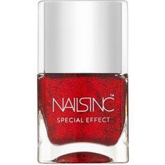 Nails inc Trafalgar Square Special Effect Nail Polish/0.47 oz. ($15) ❤ liked on Polyvore featuring beauty products, nail care, nail polish, nails, makeup, beauty, polish, apparel & accessories, no color and nails inc nail polish