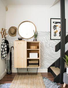 IKEA is a perhaps the most famous furniture brand that provides basic and neutral furniture designs. Today we'll take a look at some ways to hack IKEA furniture and items for your entryway, get inspired! Entryway Storage, Ikea Storage, Storage Hacks, Storage Units, Furniture Storage, Door Storage, Storage Place, Furniture Shopping, Online Furniture