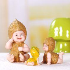 Pas cher DIY Résine fruits poupée figurine bébé extérieure statue/Miniature fée jardin ornement De Noël décoration pour la maison De Mariage Cadeaux, Acheter  Figurines et Miniatures de qualité directement des fournisseurs de Chine: &nbsp