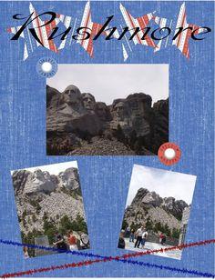 My Parents go to Mount Rushmore - Scrapbook.com