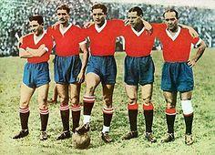 1938 Independiente de Avellaneda - Maril, De la Mata, Erico, Sastre y Zorrilla