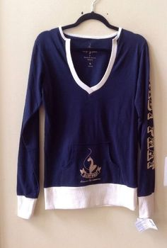 NWT BABY PHAT KIMORA LEE SIMMONS MULTI-COLOR GRAPHIC PULLOVER SWEATSHIRT SIZE L #BabyPhat #VNECK