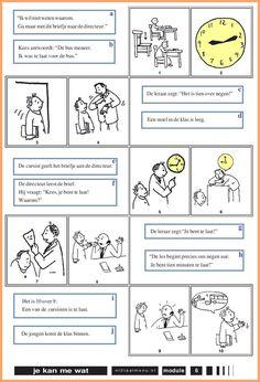 Verbind de zinnetjes met de afbeeldingen.