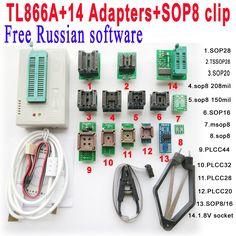 72.98$  Watch here - http://aik6w.worlditems.win/redirect/1621295956 - Free Russian software + V6.6 Original Minipro TL866A programmer +14 adapter socket + SOP8 Clip IC clamp Bios Flash EPROM EEPROM   #magazine