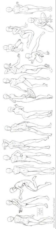 61 ideas for drawing body proportions pose reference Drawing Body Proportions, Drawing Body Poses, Drawing Reference Poses, Anatomy Sketches, Art Drawings Sketches, Cool Drawings, Drawing Lessons, Drawing Techniques, Beautiful Sketches