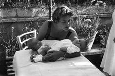 Ingrid Bergman and his daughters