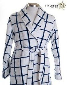 21d504d347 Like to Windowpane Pattern on you  robe  If yes