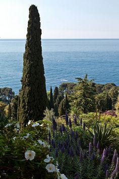 Hanbury Botanic Gardens, Ventimiglia, Liguria, Italy