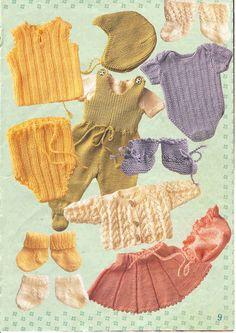 Album Archive - Sy & strik til Baby Born Baby Born Clothes, Girl Doll Clothes, Girl Dolls, Baby Dolls, Knitting Dolls Clothes, Crochet Baby Clothes, Knitted Doll Patterns, Knitted Dolls, Baby Clothes Patterns