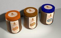 Peanut Butter by Vasil Ivanov, via Behance
