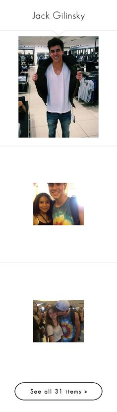 """""""Jack Gilinsky"""" by miserablenights ❤ liked on Polyvore featuring jack"""