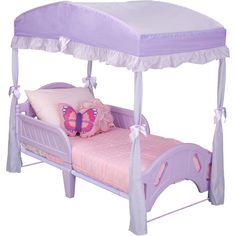 Delta Toddler Bed Canopy, Purple to Match Sophia the first