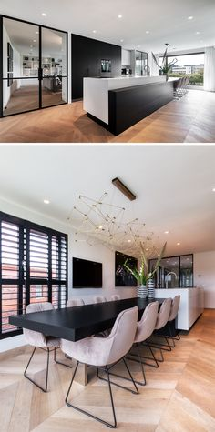 Modern home design – Home Decor Interior Designs Kitchen Interior, Modern Interior, Kitchen Decor, Interior Design, Interior Architecture, Kitchen Dining, Kitchen Ideas, Modern Kitchen Design, Modern House Design