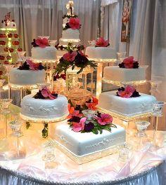 Indescribable Your Wedding Cakes Ideas. Exhilarating Your Wedding Cakes Ideas. Big Wedding Cakes, Wedding Cake Stands, Elegant Wedding Cakes, Beautiful Wedding Cakes, Wedding Cake Designs, Beautiful Cakes, Fountain Wedding Cakes, Bolo Fack, Quince Cakes