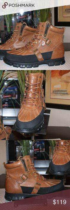 Polo by Ralph Lauren Demond Boots sz 11.5....NWT Polo by Ralph Lauren Demond Boots....NWT (unworn)....Size 11.5 D ....color: Polo Tan....smoke/pet free....shipping within 1 business day....please ask any questions Polo by Ralph Lauren Shoes Boots
