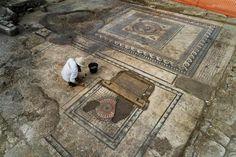 Por el momento, las excavaciones han descubierto 4000 m2 de un antiguo asentamiento