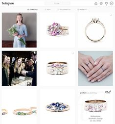 Goldsmiths - finnish high quality jewelry design in Helsinki. All jewelry is made by our own goldsmiths, from high quality materials. Instagram Feed, Jewelry Design, Engagement Rings, Jewels, Enagement Rings, Wedding Rings, Jewerly, Diamond Engagement Rings, Gemstones