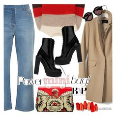 """""""Little But Fierce"""" by bagsaporter ❤ liked on Polyvore featuring Valentino, rag & bone, Givenchy, Banana Republic, Prada and House of Holland"""