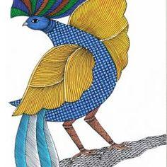 Drawing Pics, Drawings, Gond Painting, Kalamkari Painting, Madhubani Art, Indian Folk Art, Pictures To Draw, Tribal Art, Arts And Crafts