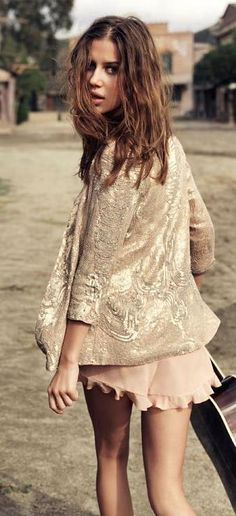 Weekend blush and sparkle. bDbA.