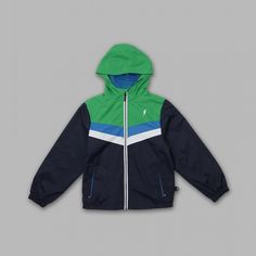 Boy's Hooded Zip-up Chevron Jacket ONLY $7.99 SHIPPED