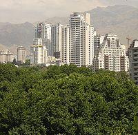Tehran Neighbourhood With Milad Tower In Background Tehran Iran Pictures Iran Pictures, Tehran Iran, Love People, Seattle Skyline, Donald Trump, Skyscraper, The Neighbourhood, Tower, Architecture