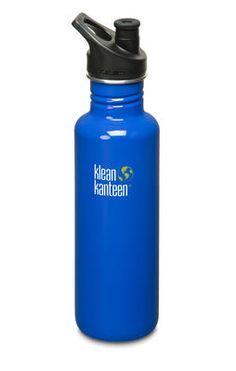Trinkflasche Metall 800 ml mit Sportkappe kaufen
