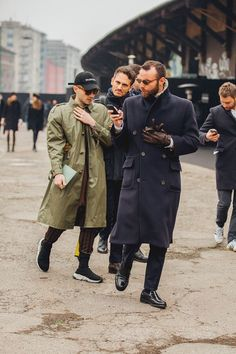 Milan Fashion Week Men's Street Style
