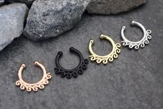 Surf Waves Septum Jewelry