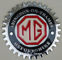 Products and Accessories MG ABINGDON-ON-THAMES GRILLE BADGE
