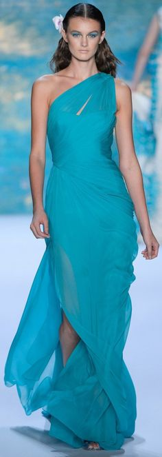 """Monique Lhuillier Spring Summer 2013 Ready-To-Wear Collection  ✮✮""""Feel free to share on Pinterest"""" ♥ღ www.fashionupdates.net"""