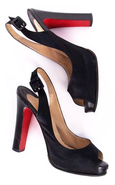 CHRISTIAN LOUBOUTIN HEELS @Shop-Hers  Only $250! Originally purchased for 895. No need to keep a Christian  Louboutin piggy bank, these are an amazing deal!