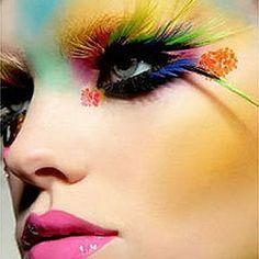 I appreciate all creative make-up artistry.~ AG~
