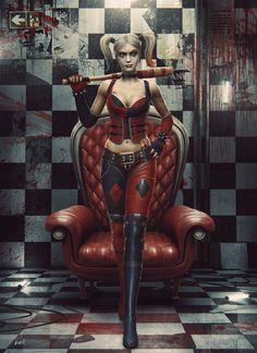 Harley Quinn by Przemek Nawrocki