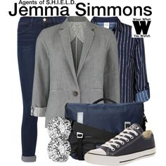 Inspired by Elizabeth Henstridge as Jemma Simmons Agents of S.H.I.E.L.D.
