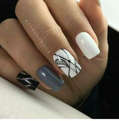 Beauty Nails – Nail Art Design Nagellack # Nagellack # Nageldesign – Nägel, You can collect images you discovered organize them, add your own ideas to your collections and share with other people. Gorgeous Nails, Love Nails, Fun Nails, Style Nails, Winter Nails, Spring Nails, Nagel Blog, Latest Nail Art, Nail Swag