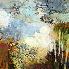 Por amor al arte: Krista Harris Underwater, Painting, Frames, Abstract Art, Amor, Modern Abstract Art, Painting Abstract, Expressionism, Artists