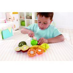 Gyümölcssaláta, Fresh Fruit vágható fajátékl, 3 éves kortól - HAPE