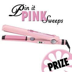 OCT 4TH: You could win this CONAIR FLATIRON!  It's easy to enter, just fill out the entry form on our Pin it Pink Sweeps tab on our Facebook page. Act fast! #UrbaneScrubs #nurses #nurse #nursing #StudentNurse #RN #LPN #Dental #Medical #Healthcare #scrubs #uniforms #fashion #sweeps #breastcancer