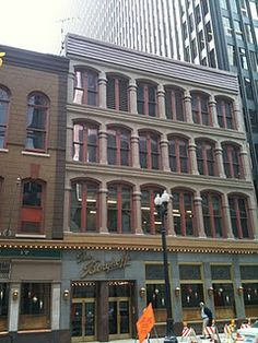 The historic Berghoff Restaurant in Chicago's Loop as seen during Around Chicago in 85 Tours.
