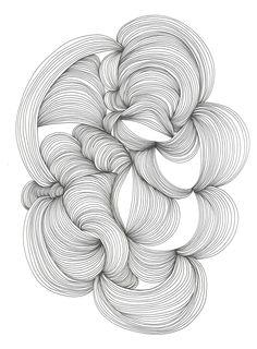 (Finite 5) - original ink drawing