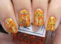 Lacquerhead Polish Witches Be Crazy (Halloween 2013 Collection)