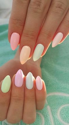 65+ Summer Nail Design Ideas