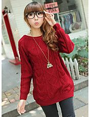Women's Fashion Knitting Sweater – USD $ 20.29