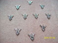 Tibetan Silver Fairy Charms by GetStoneCreations on Etsy