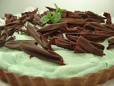 PIE DE MENTA Y CHOCOLATE