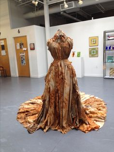 Origami Dress, Designer Collection, Decay, Tie Dye, Textiles, Costumes, Formal Dresses, Rust, Designers