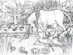 Unicorn Pond by CaveLupa on DeviantArt