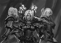 Battle Sisters Squad by Yangzeyy