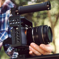 Check out the new #Elements Cage Series for the #a7S #BMPCC and #GH4 Check out the whole video on our #YouTube  channel ⭐️